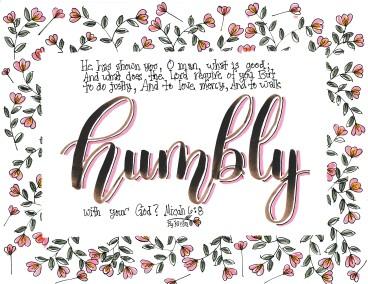 Humility Week 4 Walk Humbly
